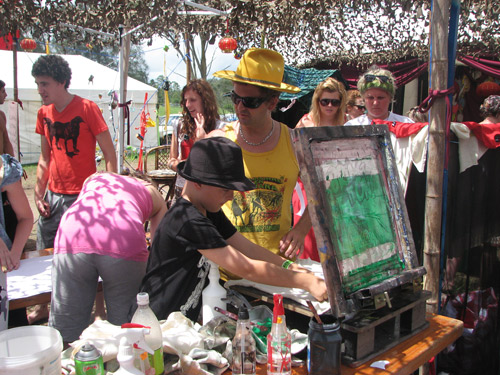 Peats Ridge Festival workshop