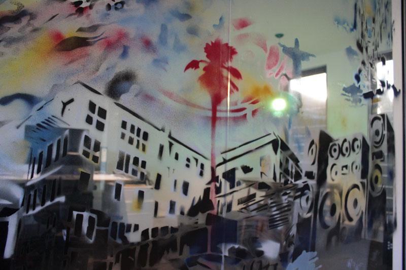 Modus project mural, Cronulla-2011