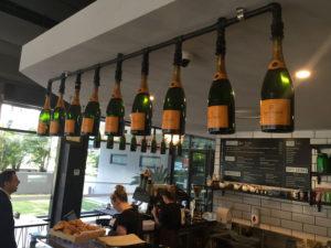 Project bottle installation