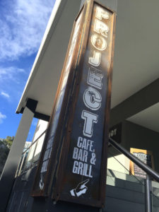 Project Pillar signs