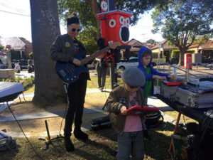Arythmetek music workshop, create and jam acoustic and electronic music through a solar sound system