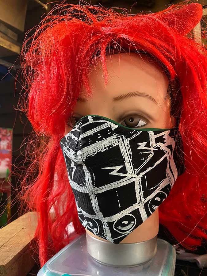 Vectorpunk Masks