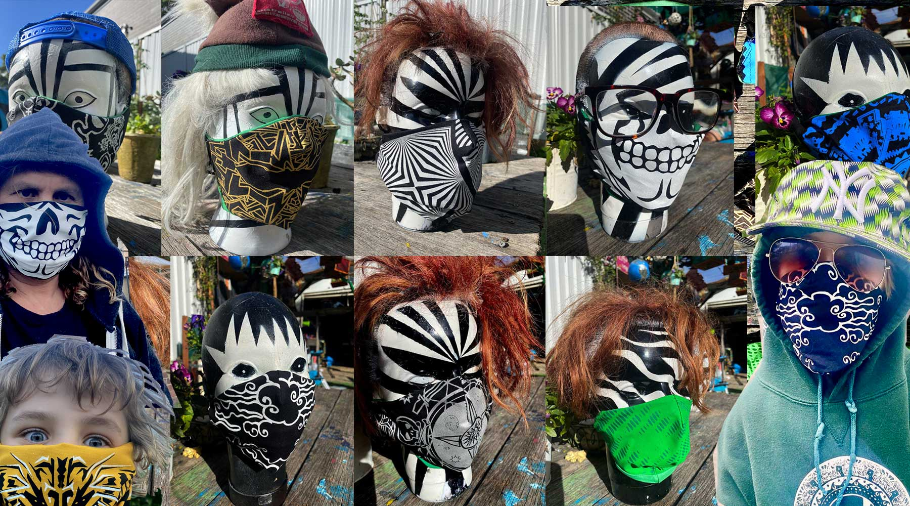 vectorpunk masks
