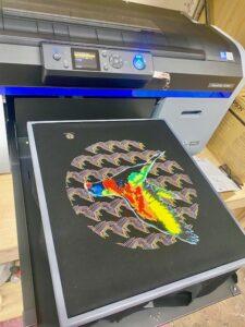DTG print set up